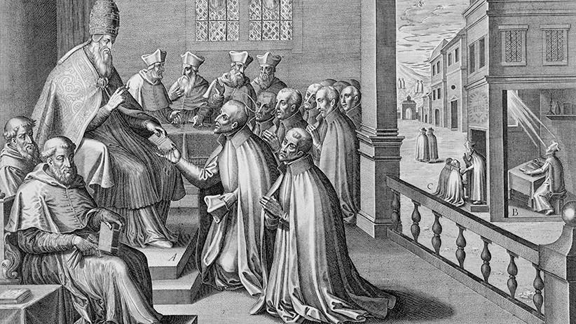 Latin Roma İmparatorluğu yıkıldıktan sonra bile, Roma kilisesi (Papalık) vasıtasıyla bu iş hala devam ettirilmektedir.