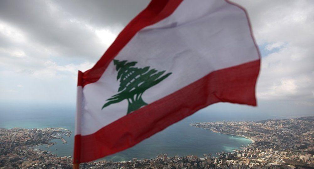 Lübnan bayrağı sedir